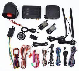 Wholesale Pke Push Start Buttons - CarBest Vehicle Security Paging Car Alarm 2 Way LCD | Push Engine Start Stop Button | Passive Keyless Entry(PKE) | Car Burglar Alarm System