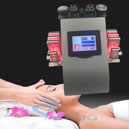Wholesale Lipo Laser System - diode lipolaser lipo laser slimming machine Ultrasonic bipolar rf fat burning skin tighten vacuum ultrasound cavitation system