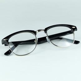 Wholesale full metal movie - The Classical Half Full Metal Rim Optical Frame Movie Stars Favourite Eyewear No Brand No Logo