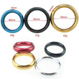 Wholesale Adult Cases - Metal Aluminum Penis RingsMetal Aluminum Penis Rings Ejaculation Adult Products Casing Delay Lock Loops Cock Rings Sex Ring