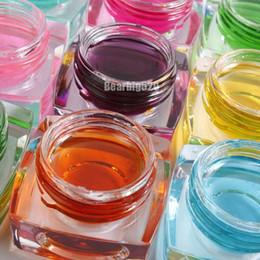 Wholesale Nail Art Uv Gel Pen - 12 colors 3D 12 Colors Solid Glaze UV Gel Nail Art Lamp Pen Builder Design Decoration 8ml