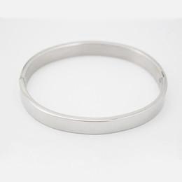 Wholesale Metallic Bangle Cuff - Jewelry Cuff bangle Fashion Designer Women's Girl's wrist Band 8mm Mirror polish Metallic Bling Cuff Friendship bangle bracelet