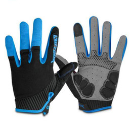 Wholesale Road Bicycle Winter Gloves - Full Finger Touch Screen Cycling Gloves Road MTB Mountain Bike Gloves Bicycle Outdoor Sport Gloves Breathable Equipment