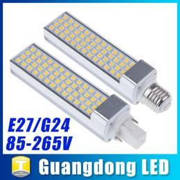Wholesale E27 13w Energy Saving - G24 E27 LED Corn Lights SMD 5050 Energy Saving Home Light Bulbs Lamp 5W 7W 9W 11W 13W AC 85-265V Spotlight Ultra Bright Warm White