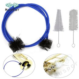 Wholesale Valve Brush - Wholesale- Trumpet Maintenance Cleaning Kit Mouthpiece Brush Valve Brush Flexible Brush
