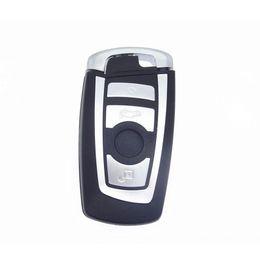 Chiave della lama automatica online-Custodia a chiave a distanza per 4 pulsanti Casella Smart Card per BMW Serie 5 7 con custodia di allarme per auto con lama di emergenza