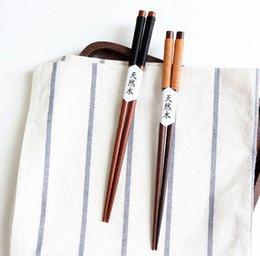 Paquet chinois en Ligne-Baguettes en bois réutilisables de haute qualité avec baguettes japonaises coréennes anti-dérapantes en ligne cassia siamea lam pack cadeau fait main chinois