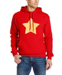 вселенная hoodies Скидка Wholesale- STAR COOKIE CAT funny printing men long sleeve fashion autumn sweatshirt Steven Universe harajuku hoodies  Mens clothing