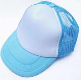 Wholesale Children Snapbacks - Custom Logo Print Children Hat Peaked Caps Summer Autumn Fashion Personalized Sun Snapbacks Solid Color DO NOT Pay Before Contact