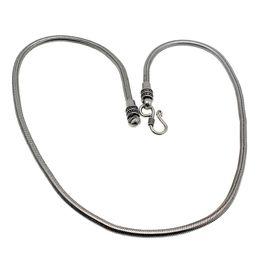 "Wholesale Men Black Chain Necklace 18 - Men Women Necklace Handmade Tiben Antique Silver Vintage Style Fashion Necklace Women Men Charm Jewelry 18"" 20"" 22"" INCH"