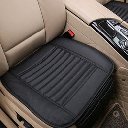 Wholesale Black Car Seat Covers - Breathable Bamboo Charcoal Car Seat Cushion Cover Full Surround Protect Seat Pad