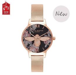Wholesale Crystal Mesh Price - Lowest Price Steel Mesh Gold Clock Women Fashion Ladies Leather Crystal Diamond Rhinestone Watches Women Beauty Dress Quartz Wristwatch