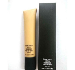 Wholesale Nw 15 - Makeup SPF 15 Foundation Liquid Long Lasting High Quality Liquid Foundation Face Concealer NC NW 15-40