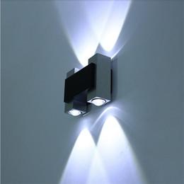 projetos de fundo de tv Desconto Design moderno Lâmpada de Parede LEVOU para baixo a Luz interior do hotel decoração de cabeceira de luz TV fundo lâmpada AC85-265V