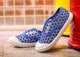 Wholesale Shoes Men Old - 2017 Baby shoes 1-3 year old men summer net breathable shoes children's children a pedal canvas shoes female