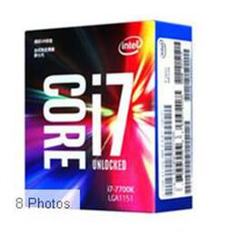 Wholesale intel core i7 processor - 2017 Intel Core i7 7700K Processor 4.20GHz  8MB Cache Quad Core  Socket LGA 1151   Quad Core  Desktop I7-7700K CPU