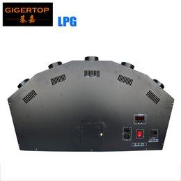 Wholesale Head Safe - TIPTOP 2017 New Fancy LPG Flame Machine 5 Head Height 1-3 Meter Spray Fire Machine Safe to Use 100 220V Stage Effect Fire TP-T155B