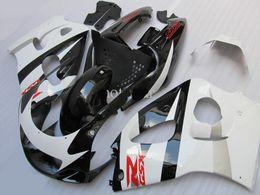 Wholesale Suzuki Gsxr 1997 - 4 Free gifts Full Fairings kit for SUZUKI SRAD GSXR 600 750 1996 1997 1998 1999 2000 fairing set gsxr600 gsxr750 96-00 red black white