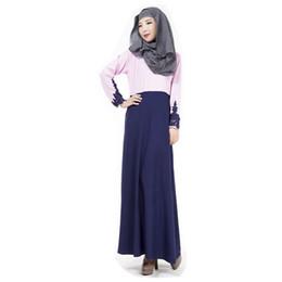 Wholesale Islamic Clothing Women Wholesale - Fashion Muslim prayer service New Arab Women Robes Long Sleeves Islamic Ethnic Clothing free shipping