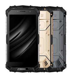 """Wholesale Quick Stores - 5.2"""" Doogee 21MP S60 IP68 Waterproof Smartphone 6GBram 64GB rom Helio P25 Octa Core Mobile Phone 5580mAh 12V2A Quick Charge goloble version"""