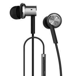 Wholesale Unit Mix - mi piston Original Xiaomi Hybrid Earphone Units with Mic Remote In-Ear HiFi Earphones With Mic Circle Iron Mixed for Xiaomi Redmi Mobile