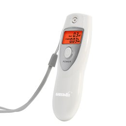 Wholesale Nice Display - 2016 wholesale cheap and nice mini personal gift *breath alcometer * with digital lcd display inhaler alcoholmeters