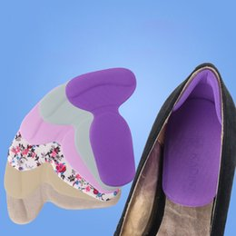 Wholesale Heels T Shape - T-Shape Silicone Non Slip Cushion Foot Heel Protector Liner Shoe Insole Pads