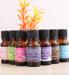 Wholesale Rose Diffuser Oil - 12 Styles 100% Pure Plant Essential Oils Aromatherapy Diffuser Essential Oil