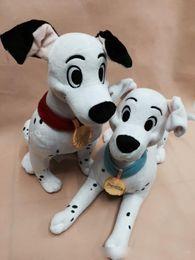 Wholesale Dalmatian Toy Dogs - Wholesale- New Arrival Original 101 Dalmatians Animal Spot Dog Cute Big Soft Anime Plush Toy Doll Birthday Children Boy Girl Gift