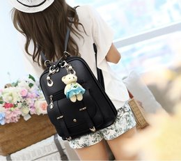 Wholesale Women Fashionable Black Bags - wanhao2017 New Style Women Backpack Lady Backpack 7 Colors High Quality Girl Backpack Shoulder Bags Fashionable Lovely Style Free Shipping