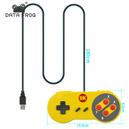Wholesale Original Nintendo Games - 2017 The Original SNES Super Nintendo game Super Nintendo game grey handle a wired cable top-level toughened material handle