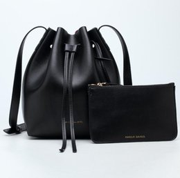 Wholesale Small Belt Bags - Fashion brand single shoulder bag The new leather belt bucket package European and American stars with designer shoulder inclined shoulder b
