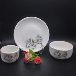Wholesale Wholesale Chinese Dinnerware - Chinese style Ceramic Tableware Dinnerware Set and Ceramic Dinnerware,can be high temperature, health Dinnerware no1