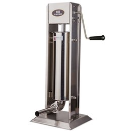 Wholesale Stainless Steel Enema - Stainless steel hand enema machine 5l electric commercial vertical household irrigation machine hand sausage machine Sausage Stuffer