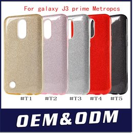 Wholesale Shining Tpu Case - TPU PC Shining Bling Glitter Armor For iphone X 8 plus Case Cover For galaxy Note 8 J3 prime Metropcs For LG V30