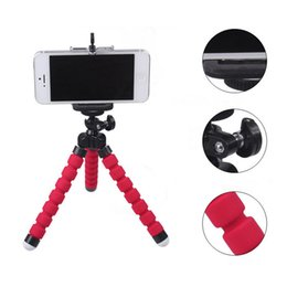 Wholesale Digital Camera Holders - 3 In 1 Flexible Holder Octopus Tripod + Phone Holder Bracket Stand Mount Monopod Digital Camera for Huawei and iPhone 6