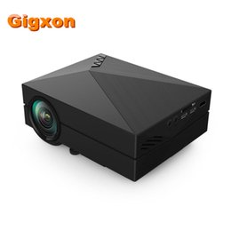 Wholesale 3d Projector Shipping - Wholesale- Free Shipping G60 Compatible Full HD Home Portable Projector Mini Pico proyector 3D VGA HDMI para cine en casa beamer proyector