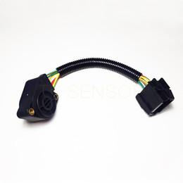 Wholesale Throttle Pedals - 1 PC Sensor, accelerator pedal position(Mixture Formation) pedal position 6 LINES B 3985226 20524685 Throttle Position sensor For VOLVO