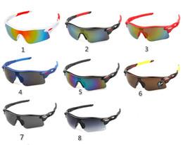 i più nuovi stili di vetro Sconti estate più nuovo stile Solo occhiali da sole 8 colori occhiali da sole da uomo Bicicletta Occhiali da sole sportivi NIZZA Dazzle occhiali da sole A +++ spedizione gratuita