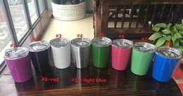 Wholesale Antique Cast - Kids Gifts 9oz Vacuum Insulated Double Wall Kids Tumbler Stainless Steel Lowball Wine Tumbler 9oz Cup with lids straws