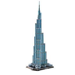 Wholesale Khalifa Tower - 3D Jigsaw Puzzle Burj Khalifa Tower 64 Pieces Toy New