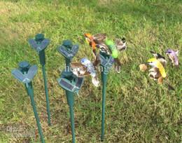 NOVITÀ Solar hummingbird bird colibrì farfalle garden toys studenti Patio Garden prato solare e batteria combinata Farfalla Decorazioni da farfalle decorazioni da giardino fornitori