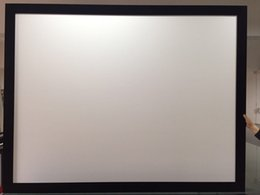 Wholesale Frame Projection Screen - 4:3 100inch High gain screen aluminum front projector screen cinema fixed frame projection screen available