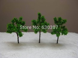 Wholesale N Scale Model Trains Layouts - Wholesale- G3010 Scale Train Layout Set Model Trees N Z 3cm