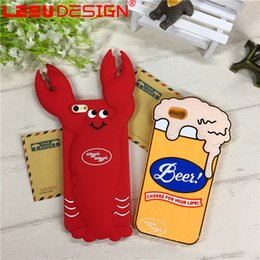 Wholesale Shipment Case - New Design Cute Cartoon Soft Silicone Phone Case for iPhone 7 6 Cell Phone Case free shipment