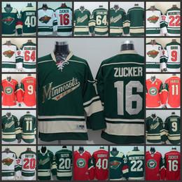 Wholesale Hockey Jerseys 22 - Minnesota Wild Stadium Series 16 Jason Zucker 40 Devan Dubnyk 9 Mikko Koivu 11 Zach Parise 20 Ryan Suter 22 Nino Niederreiter Ice Jerseys