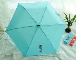 Wholesale Men Umbrella Folding - Umbrella Mini Pockets Umbrella 165g Small Folding kid umbrella men sun rain gear Parasol