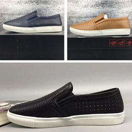 Wholesale Celebrity Style Tassel - 2017 men luxury brand loafer Hollow out shoes causal sandals celebrity style tassel moccasin gentlemen leather lining shoes size39-44