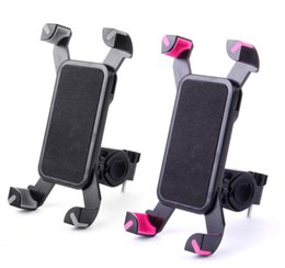 Wholesale Car Mount For Bike - Upgrade Universal Bike Mobile Phone Holders Bicycle Stand Cellphone Support Clip Car Bike Mount Flexible Phone Holder For Iphone Samsung GPS