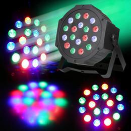 luz verde mini pc Desconto 4 PC 18 W AC85-265V Led Luzes Par RGB Iluminação de Palco DMX512 Luzes Led Para O Partido KTV Disco DJ Iluminação